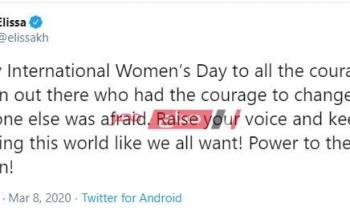 اليوم العالمي للمرأة – تعرف كيف احتفلت الفنانات بهذا اليوم