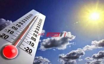 الأرصاد الجوية تحذر من ارتفاع حاد في درجات الحرارة يومي الثلاثاء والأربعاء تعرف علي التفاصيل