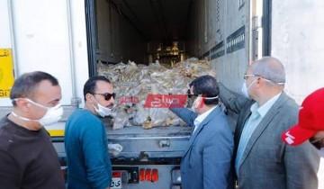 توزيع 25 طن لحوم وبطاطس من صندوق تحيا مصر لأهالي دمياط