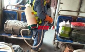 إيقاف قطار القاهر -أسوان ونقل راكب مشتبه به بالكورونا الى المستشفى