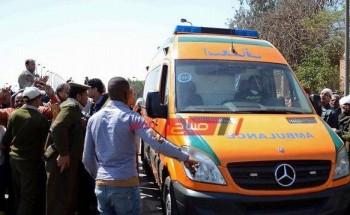 مصرع سيدة وإصابة 3 عمال جراء وقوع حادثين فى الشرقية خلال 24 ساعة