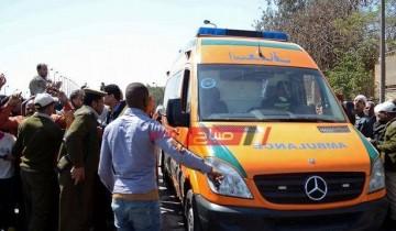 بالاسماء مصرع شخصان جراء حادث تصادم مروع على طريق الزرقا – دمياط