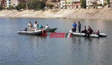 الإنقاذ النهرى فى أسيوط ينتشل جثمان طالب غريق بترعة الملاح