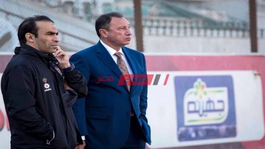 الخطيب يحضر مران الأهلي ويؤازر  اللاعبين