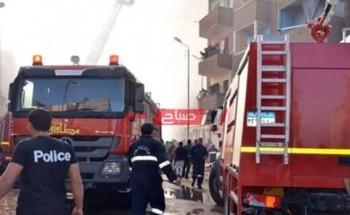 نشوب حريق داخل غرفة عمليات النجدة في محافظة الإسكندرية