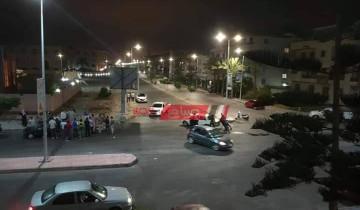 إصابة شخص جراء حادث تصادم بإحدى طرق مدينة دمياط الجديدة