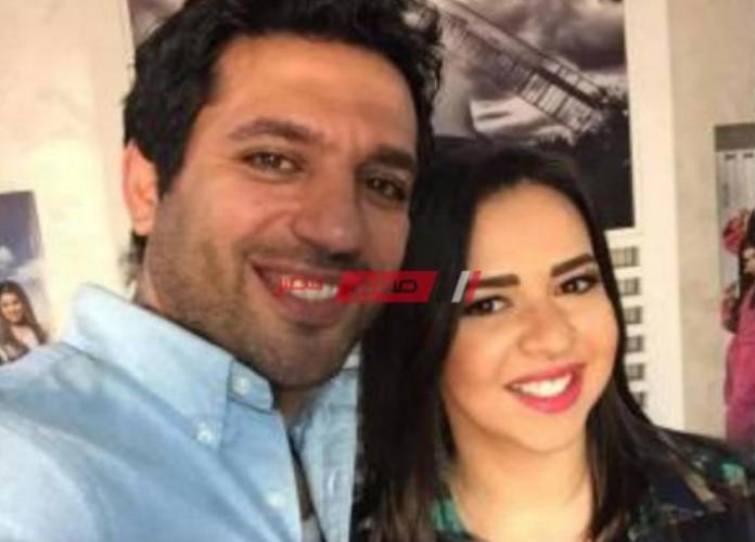 إيمي وزوجها حسن الرداد يزورون مقابر سمير غانم… الصور