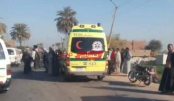 إصابة طفلة رضيعة بنزيف حاد على يد داية فى سوهاج