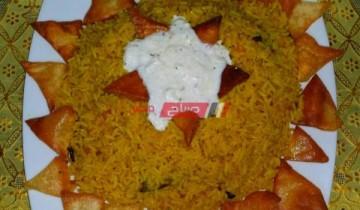 طريقة عمل الأرز البسمتي بالكاري في خطوة واحدة للمبتدئين