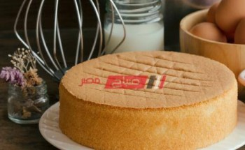 طريقة تحضير الكيكة الإسفنجية نجلاء الشرشابي