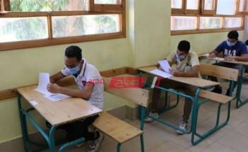 طلاب الثانوية العامة يؤدون امتحان الفيزياء والتاريخ غدا