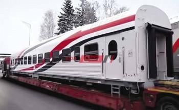 السكة الحديد تستقبل 243 عربة جديده