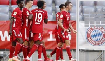 نتيجة وملخص مباراة بايرن ميونخ وآينتراخت فرانكفورت الدوري الالماني