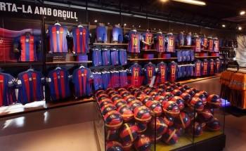 فتح متجر برشلونة من جديد