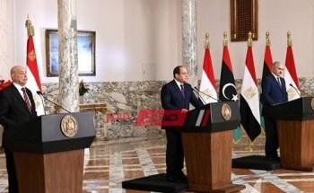 مبادرة مصرية لحل الأزمة الليبية