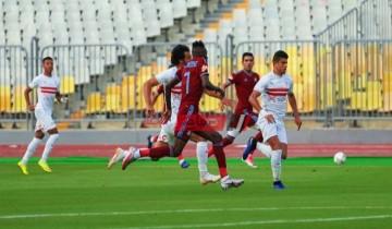 نتيجة مباراة الزمالك وبيراميدز اليوم الدوري المصري