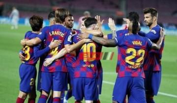نتيجة مباراة برشلونة وديبورتيفو ألافيس اليوم الدوري الاسباني
