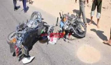 حادث تصادم مروع فى الشرقية يسفر عن إصابة 3 شباب
