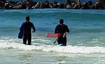 مصرع شاب غرقا بشاطئ العجمي في محافظة الإسكندرية