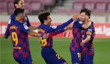 نتيجة مباراة برشلونة وفرينكفاروزي اليوم دوري أبطال أوروبا