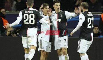 نتيجة وملخص مباراة يوفنتوس ولاتسيو الدوري الايطالي
