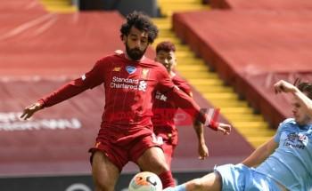 محمد صلاح على بعده خطوة من تحقيق إنجاز تاريخي في ليفربول