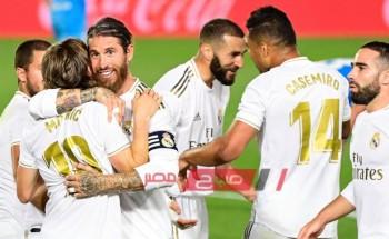 نتيجة وملخص مباراة ريال مدريد وأتلانتا دوري أبطال أوروبا