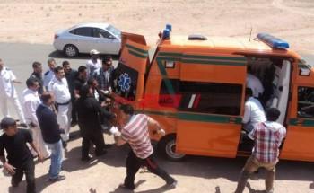 العثور على طفلتين وإصابة 3 أشخاص إثر حادثين فى سوهاج خلال 24 ساعة
