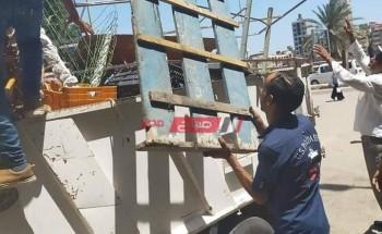 حملات إزالة اشغالات ومتابعة مواعيد غلق المحلات بمحافظة الإسكندرية