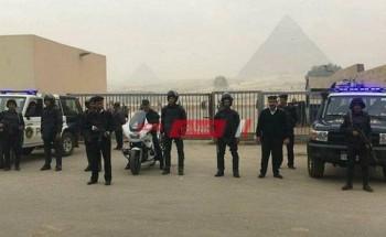 حملة لإزالة التعديات والإشغالات بالمنطقة الأثرية في الهرم