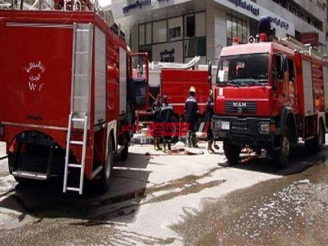 اندلاع حريق في مسرح مدرسة خاصة بمحافظة الإسكندرية