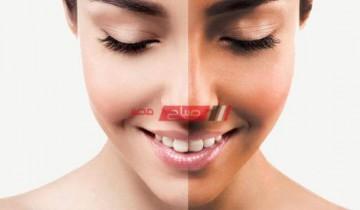 طريقة تبييض الوجه بوصفة ناجحة من أول مرة في يوم واحد