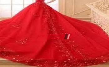 تفسير حلم الفستان الأحمر في المنام للعزباء والمتزوجة