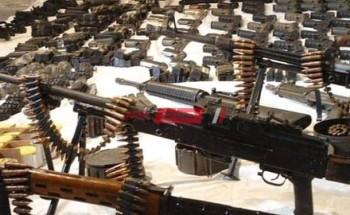 القبض على 5 مجرمين بحوزتهم أسلحة نارية وذخيرة غير مرخصة في الجيزة