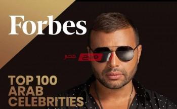 رامي صبري يشكر مجلة فوربس علي انضامه في قائمة أفضل100 مغني
