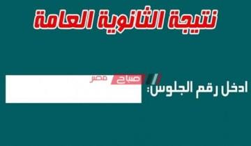 نتيجة الثانوية العامة اليوم السابع الرابط الرسمي من موقع وزارة التربية والتعليم