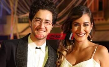 أمينة خليل تهنئ الفنان أحمد مالك بـ عيد ميلاده