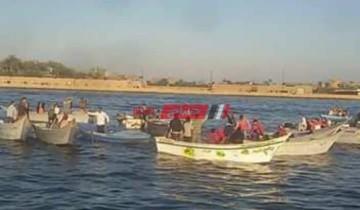 غرق شاب في مياه نهر النيل برأس البر أثناء السباحة هرباً من حرارة الطقس
