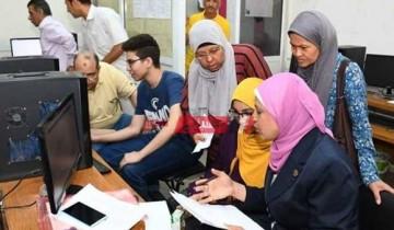 متاح التقديم فى تنسيق الدبلومات الفنية 2020 بالاسم الثلاثي ورقم الجلوس من بوابة الحكومة المصرية