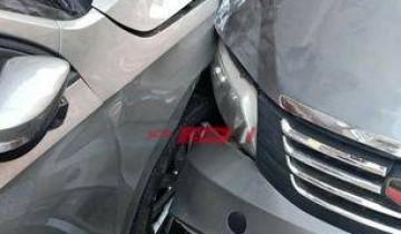 بالصور إصابة 3 أشخاص جراء حادث مروري مروع بميدان سرور في دمياط