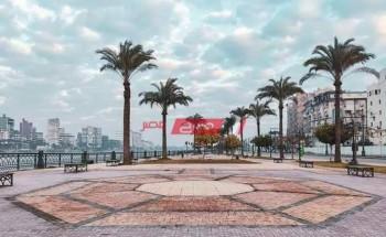 طقس مشمس في دمياط غداً الجمعة 20-11-2020 مع توقعات بسقوط أمطار ورياح نشطة