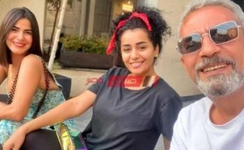 رانيا منصور تنتهي من تصوير مشاهد مسلسل أسود فاتح