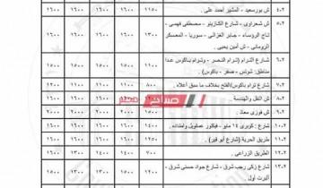 تعرف على سعر متر التصالح بمخالفات البناء داخل جميع أحياء الإسكندرية