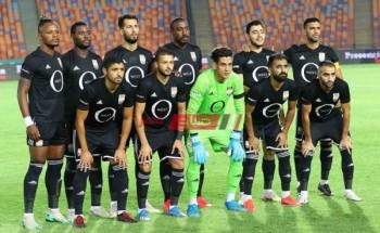 نتيجة مباراة الجونة ومصر المقاصة اليوم الدورى المصري