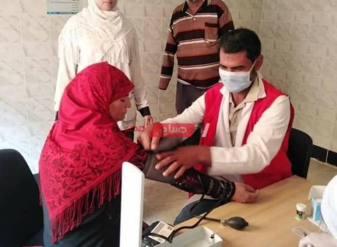 انتظام فعاليات مبادرة الرئيس لعلاج الأمراض المزمنة في دمياط