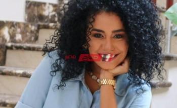 نانسي صلاح ترويج لـ فيلم ماما حامل
