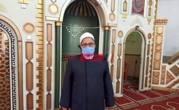 وكيل الأوقاف بدمياط ينعي خطيب مسجد لقى مصرعه في حادث مروري
