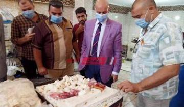 صحة الشرقية تضبط ٣ مصانع مخالفة للإشتراطات الصحية   وإعدام ١.٥ طن حلويات بها