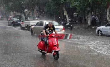 الأرصاد الجوية تتوقع استمرار تساقط الأمطار خلال الـ 72 ساعة المقبلة