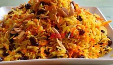 طريقة عمل الأرز البسمتى الأصفر بالزعفران على طريقة المطاعم